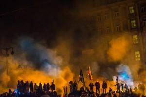Protests in Kiev, Ukraine Photo used under Creative Commons License