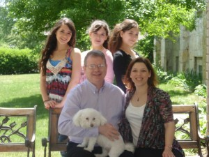 Forrest Family (left to right: Celeste, Aliza, Erica, Todd, Raquel, and Diamond) Photo provided by Celeste Forrest