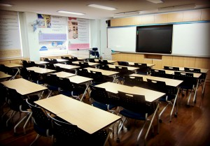 A classroom in Korea Used under Creative Commons