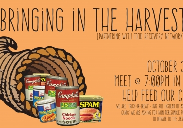 Help Feed The Hungry This Halloween By Bringing In The Harvest