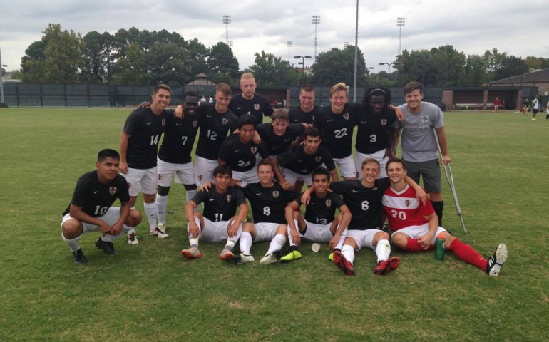 Men's Soccer Storms into Offseason