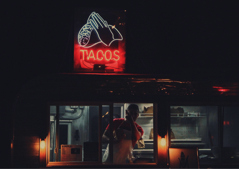 Bethany's Taco Truck Scene