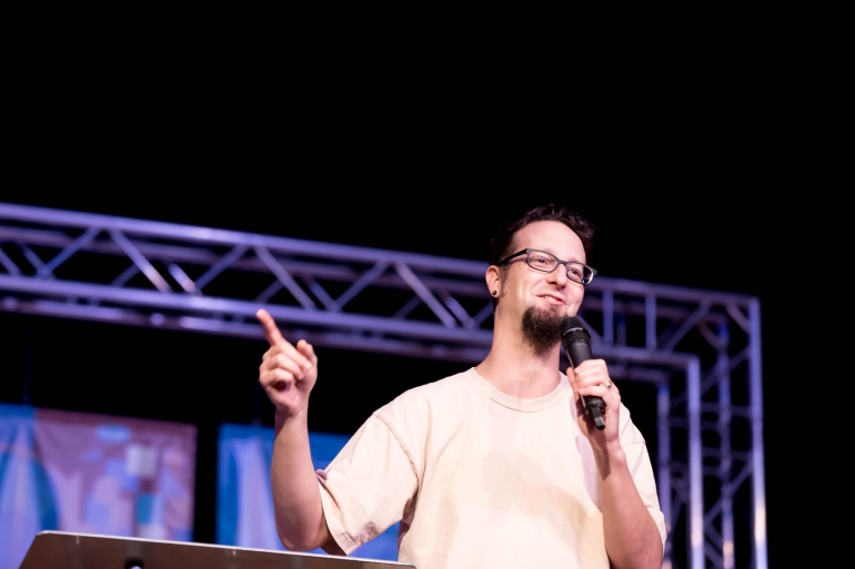 Becoming Holy Troublemakers: A Reaction to Shane Claiborne's Chapel Message