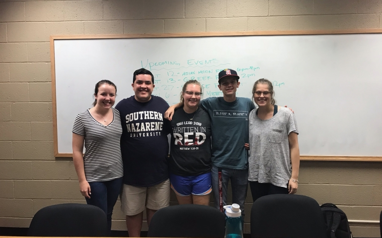 SIMs Encourages SNU Students to be Intentional
