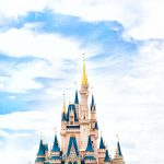 The top of the Disney Castle