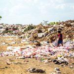 A landfill full of trash