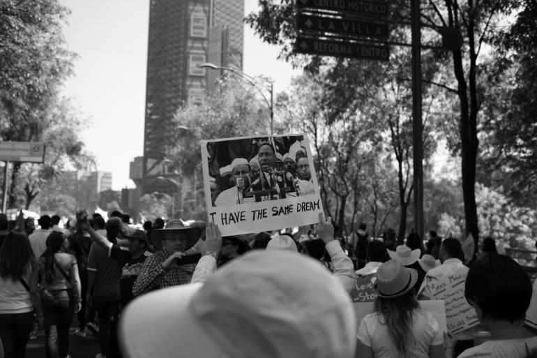 MLK Day Walk and Coffee Shop Talks
