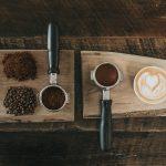 Coffee on a slab
