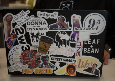 Laptop Sticker Stories