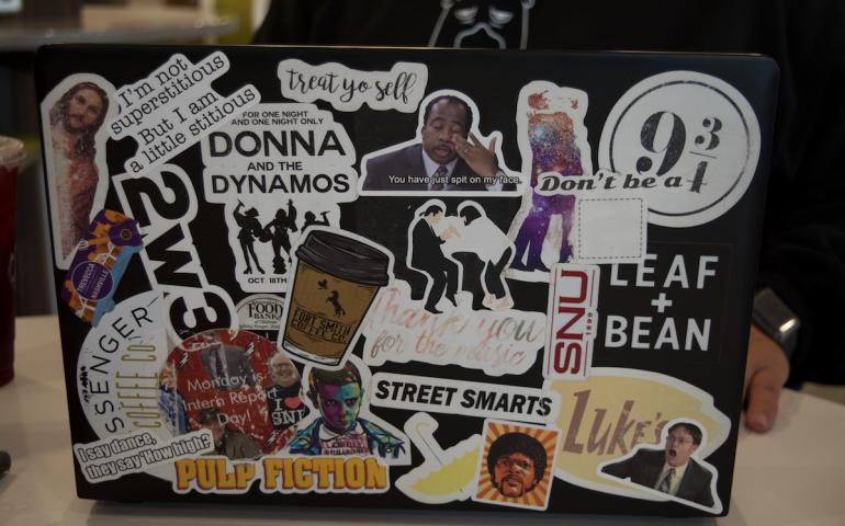 Laptop Sticker Stories