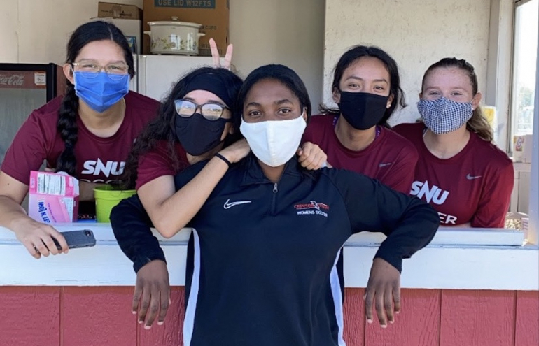 SNU Women's Soccer Team is Set to Take Spring Season by Storm Amidst Covid-19