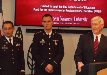 SNU Only School in Oklahoma to Receive Veterans Grant
