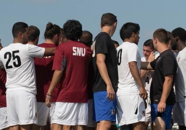 Hurricane Harvey Relief and SNU Men's Soccer