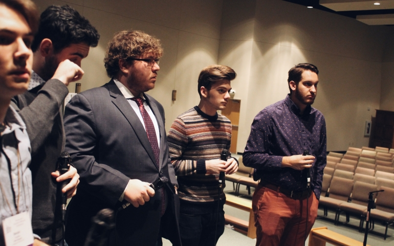 Ya Like Jazz? — The University Singers Perform at JEN Conference