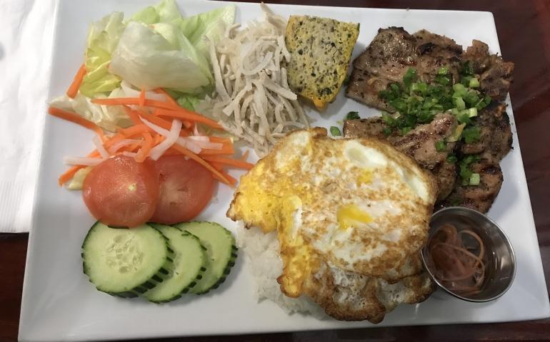 large food plate