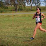 Nancy Jurado running cross country