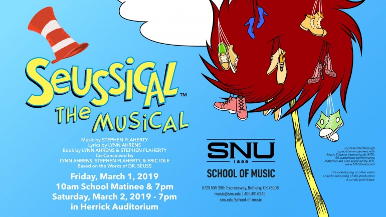 """""""Seussical the Musical"""" at SNU"""
