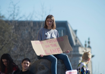 """Whose future? Our Future"" High Schoolers Protest for Climate Change Action"