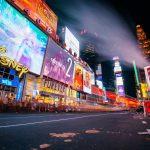 Times Square screens