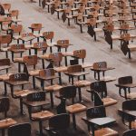 So many school desks