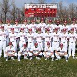 Professional shot of the baseball team