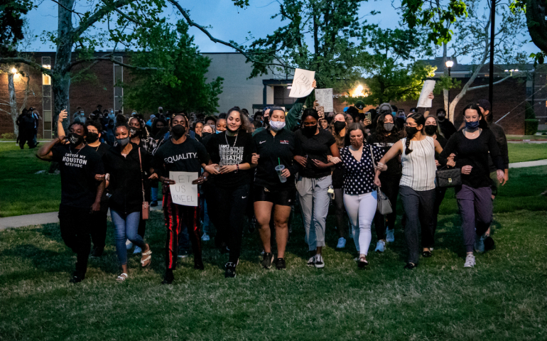 SNU Students Meet with President Newman Regarding Potential Policies against Protests